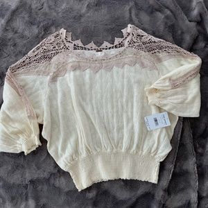 NWT Free People sweater